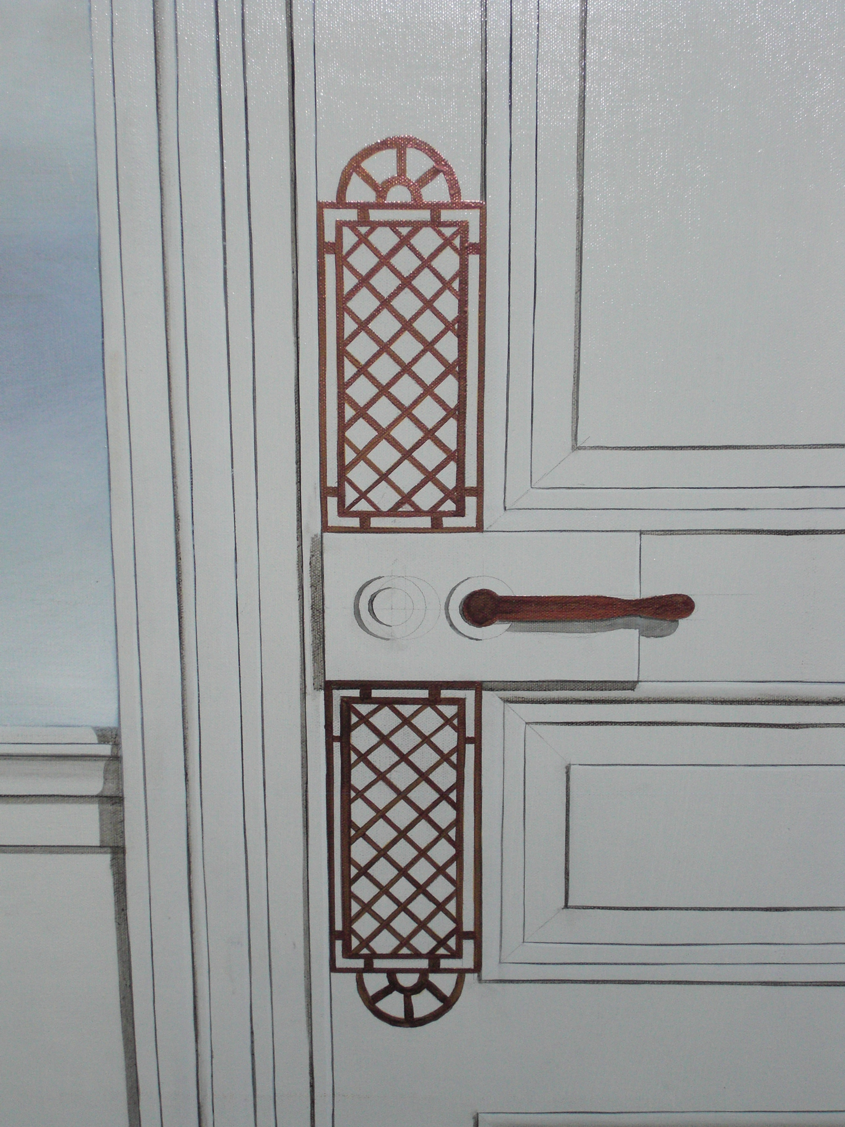 Slender Means - detail