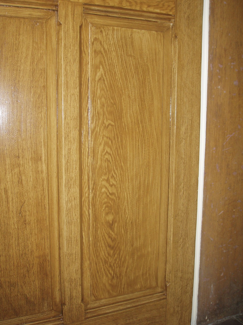 Faux Oak - after