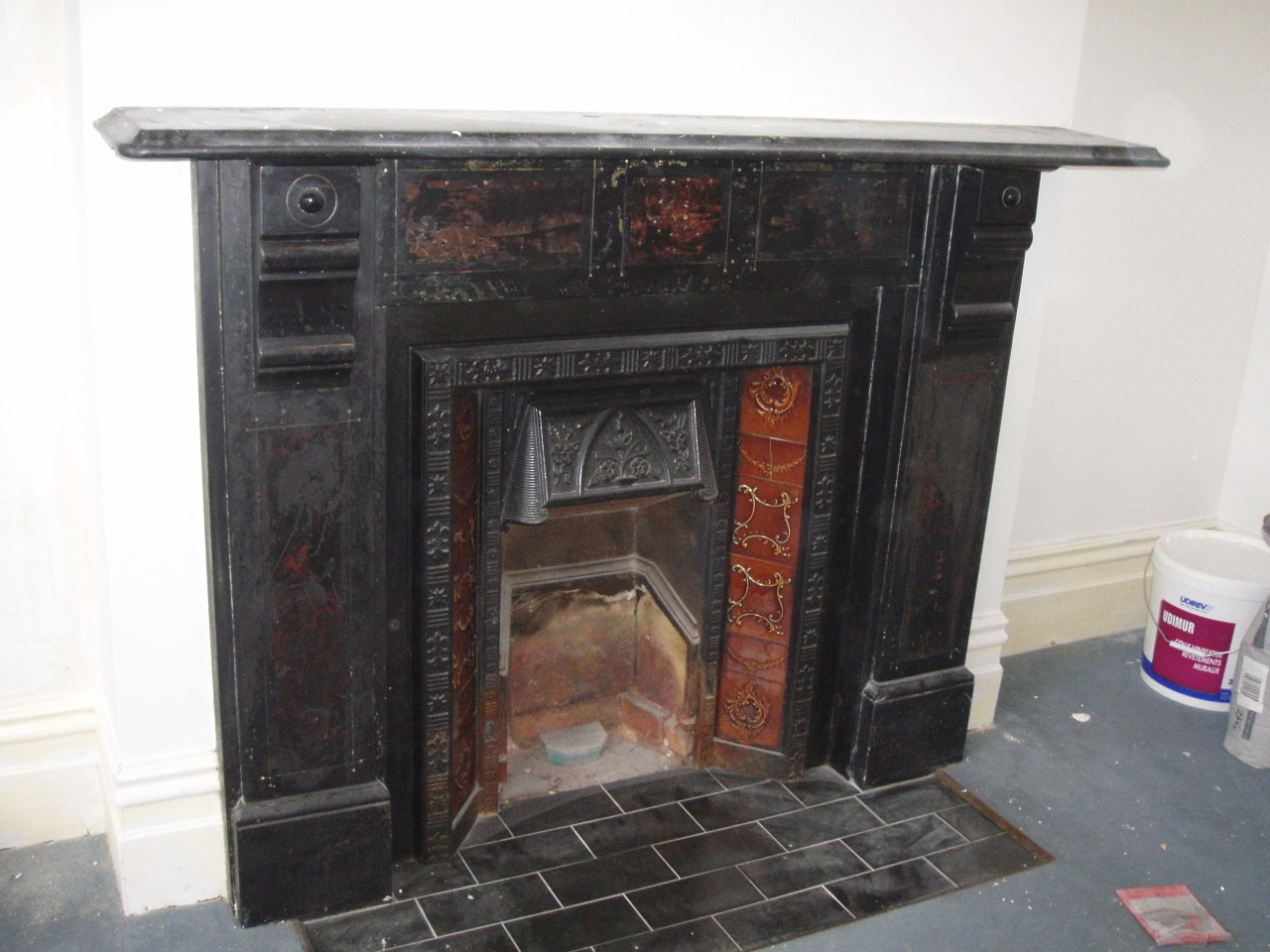 Fireplace Restoration - before