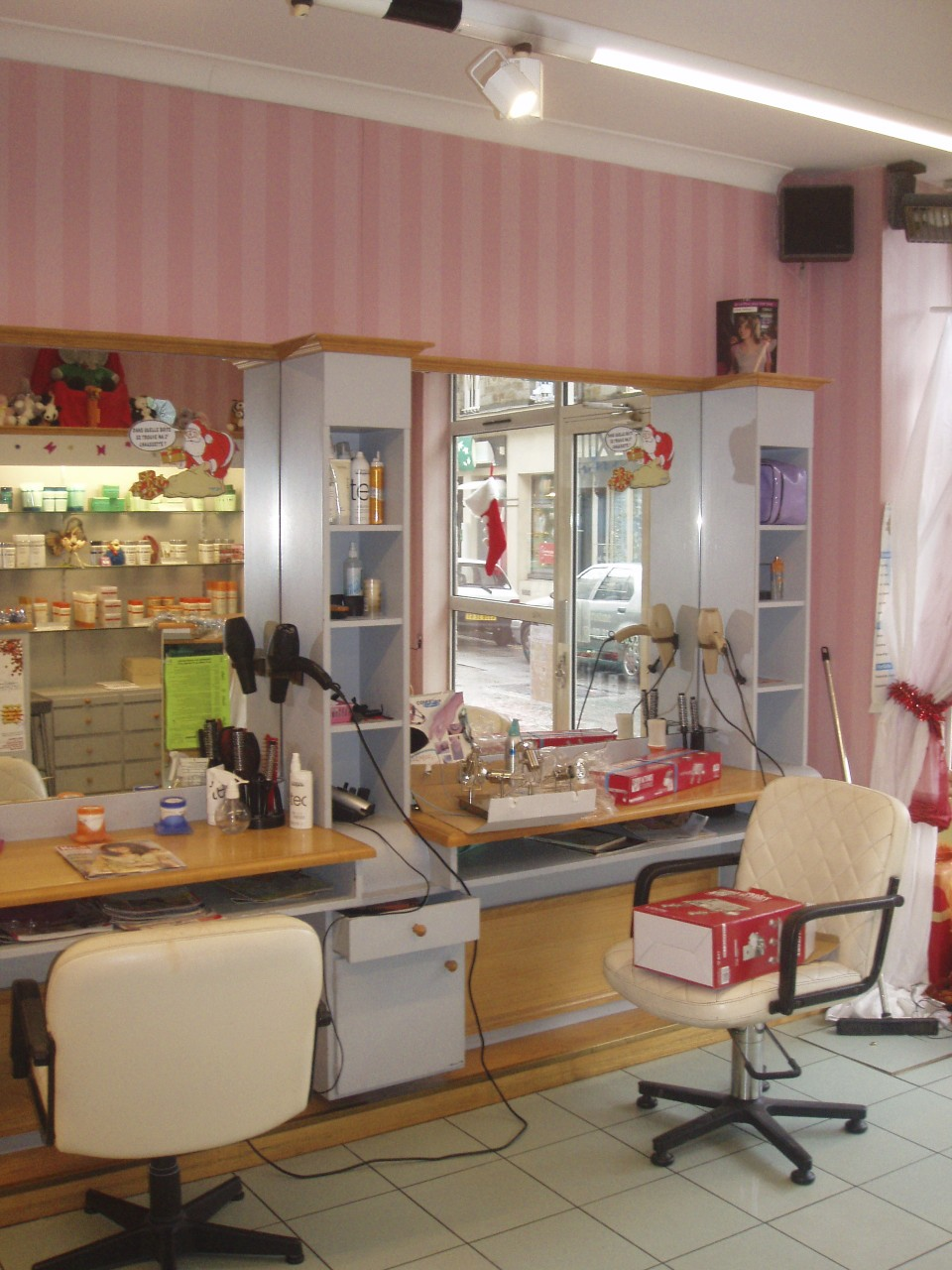 Hair Salon - before