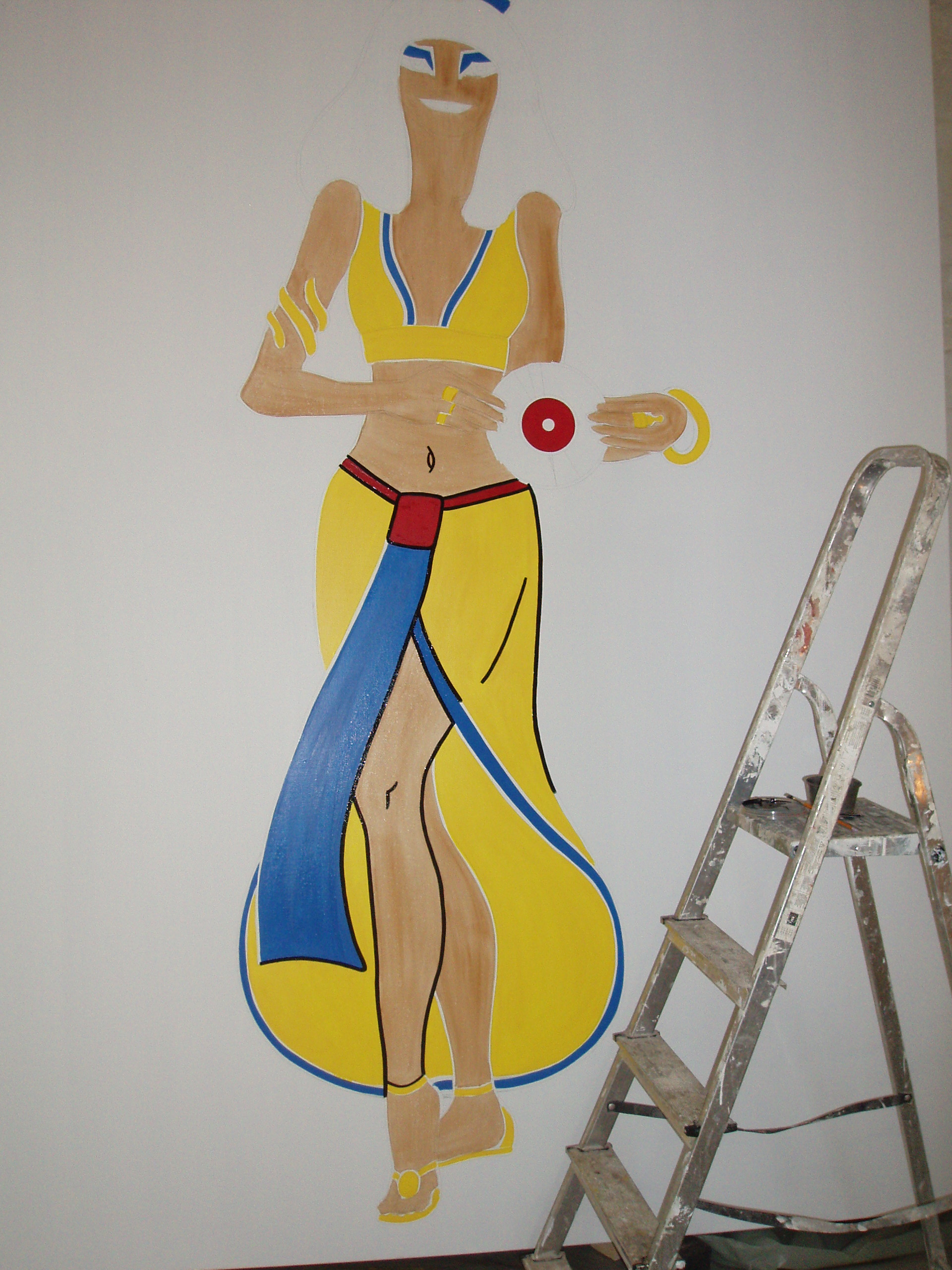 Painting Cleopatra