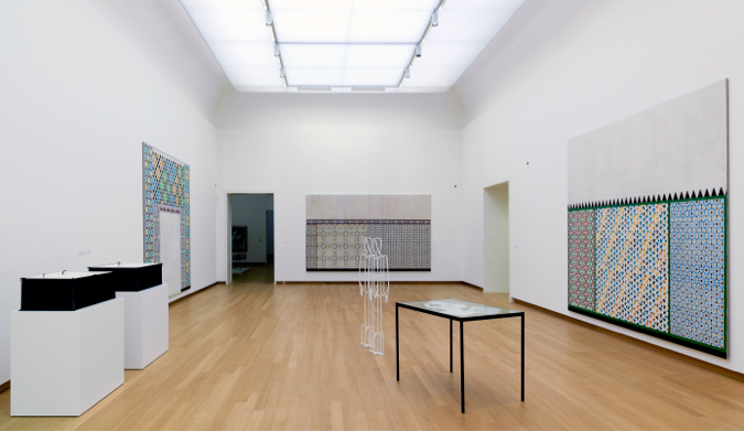 Lucy Mckenzie at Stedelijk Museum 2013 photo by Gert-Jan van Rooij